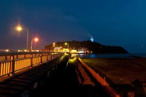 夜の江ノ島