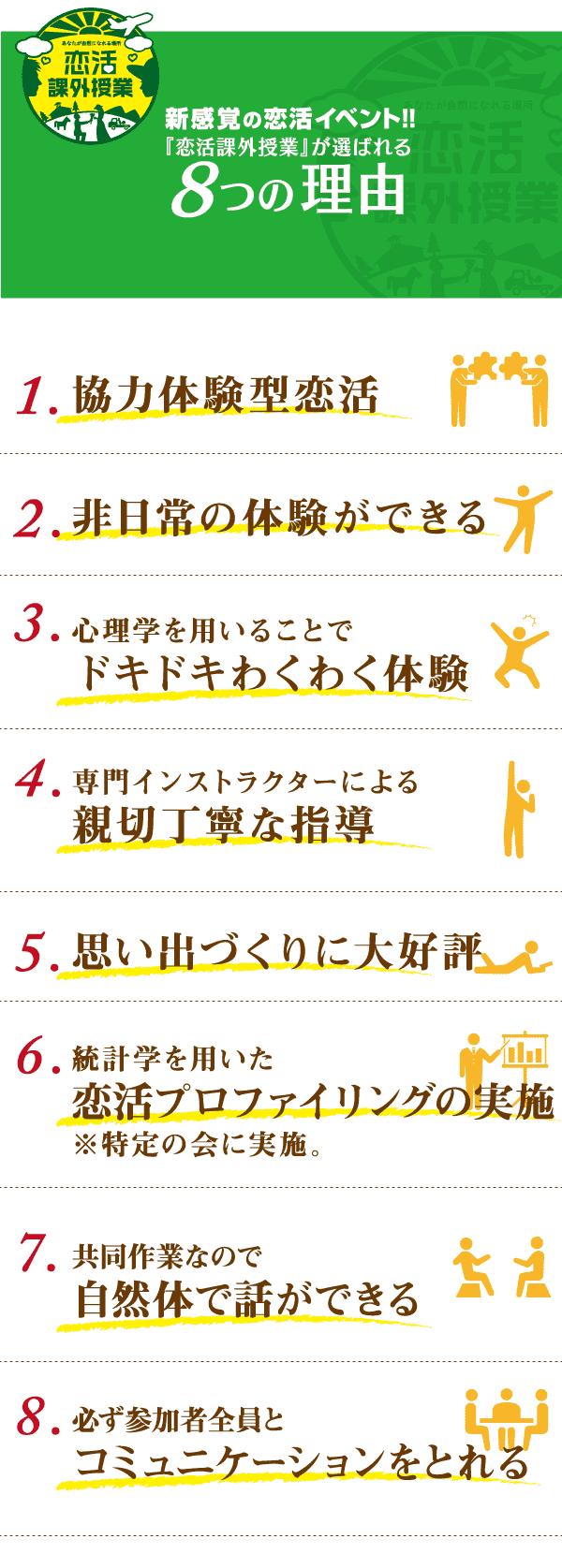 5.選ばれる8つの理由